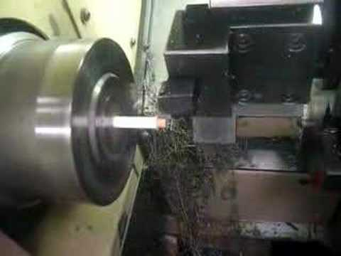 CNC lathe pencil sharpener