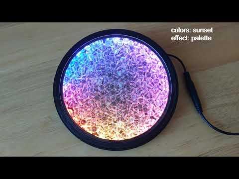 Crystal Glass Beads and LEDs